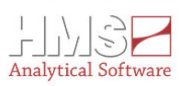 Logo HMS Analytical Software GmbH